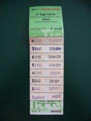 Vienna transport ticket
