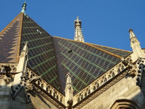 Stephansdom roof