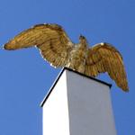 Schönbrunn gateway eagle
