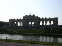 Darker view of the Gloriette