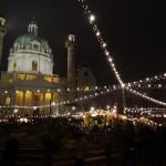 Karlsplatz Xmas market, Vienna