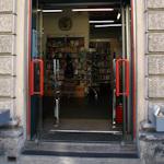 Open shop doors