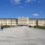 Schöbrunn palace rear