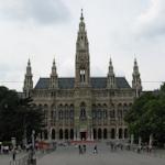 View of the Rathausplatz