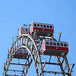 Riesenrad carriages