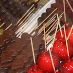 Chocolate fruit and toffee apples