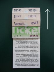 Vienna travel ticket