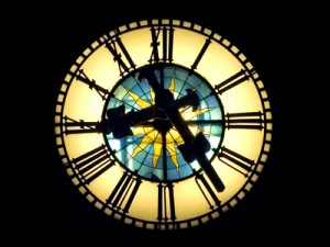 Rathaus clock