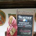 Tirolerhof sign