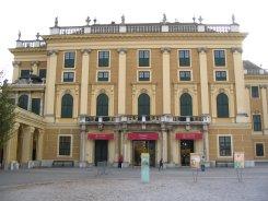 Schönbrunn palace entrance