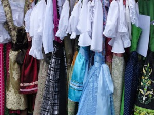 Traditional Austrian dresses