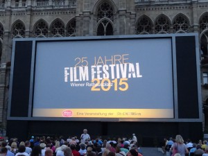 Rathaus Film Festival screen
