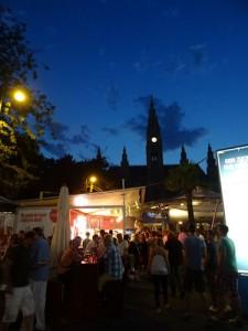 Gastronomy area, Rathaus Film Festival