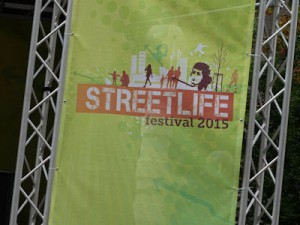 Streetlife festival sign