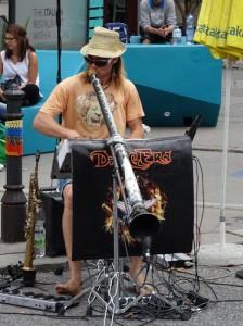 Street performer, Vienna