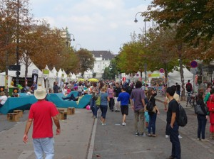 Streetlife festival view down the street