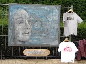 Street art for sale