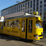 Vienna's yellow tram