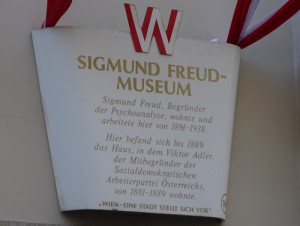 Sigmund Freud plaque, Vienna
