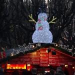 Altes AKH Christmas market