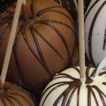 Chocolate apples