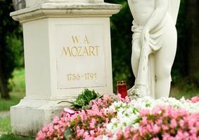 Mozart's grave