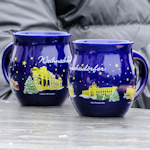 Christmas punch mugs