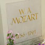 Mozart's gravestone writing