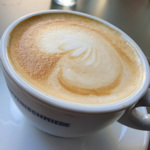 A melange coffee