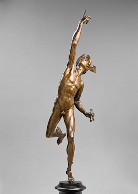 Flying mercury bronze