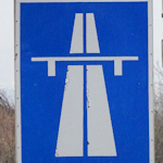 Austrian motorway sign