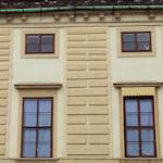 Hofburg apartment windows