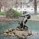 Fountain in the Burggarten