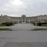 View across Heldenplatz