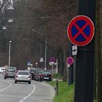 Road parking in Vienna