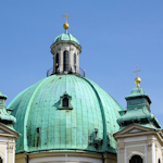 Peterskirche dome, Vienna
