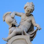 A Belvedere cherub