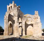 Medieval cburch ruins