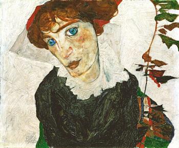 Egon Schiele, Portrait of Wally Neuzil, 1912 © Leopold Museum, Vienna, Inv. 453