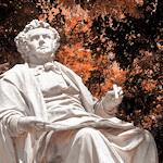 Top of the Schubert statue