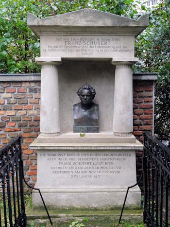 Schubert's first grave