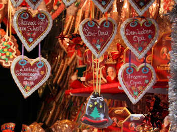 Heart-shaped Lebkuchen