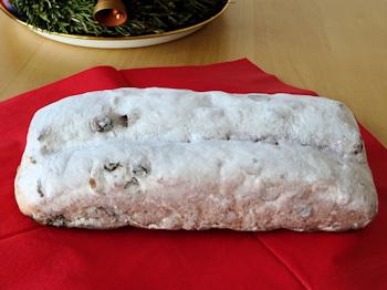 Loaf of stollen