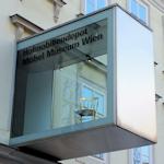 Hofmobiliendepot entrance sign