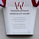 Pasqualati House display