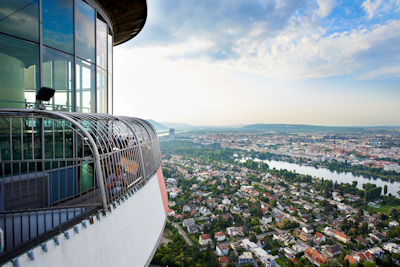 Donauturm view