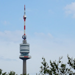 Donauturm from a distance