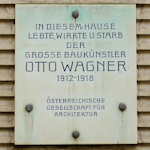 Otto Wagner Plaque