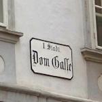 Domgasse sign
