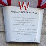 Konzerthaus Plaque
